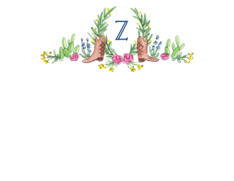 Boots, Cactus and Greenery Flat Note