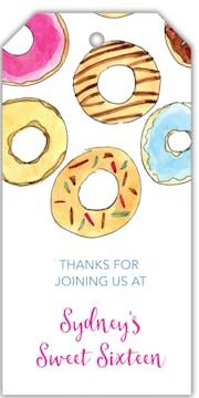 Donuts Hanging Gift Tag