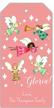 Gloria Angels Hanging Gift Tag