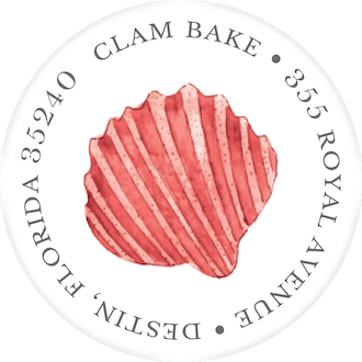 Shells Return Address Label