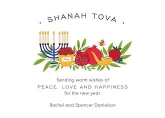 Peaceful Year Invitation
