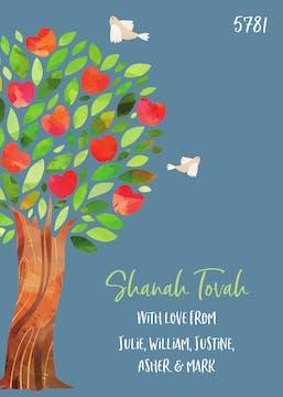 Sweet Tree of Life Invitation