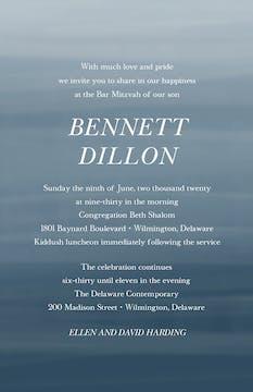 Gradient Invitation