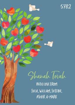 Sweet Tree of Life Greeting Card