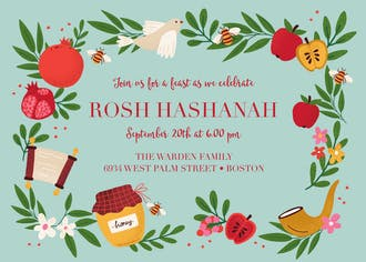 Rustic Harvest Invitation