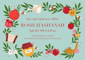 Rustic Harvest Invitation