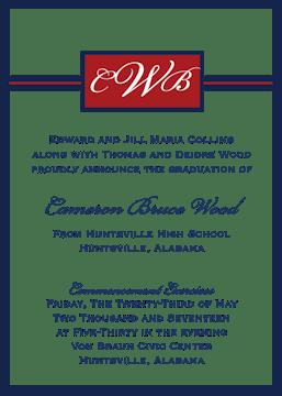 Elegant box invitation