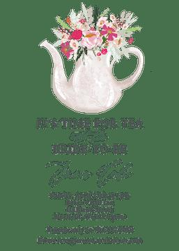 Time for Tea Invitation
