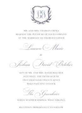 Antique Frame Invitation